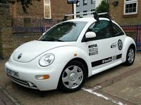 Volkswagen beetle 1.9 tdi,,,,,left,,,,,hand,,,,,drive,,,,,in white, cam-belt and service just done.