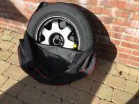 Space saver wheel and tyre kit for BMW X3