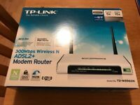 TP Link 3000Mbps Wireless N ADSL2+ Modem Router