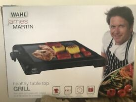 James Martin table top health grill unwanted present