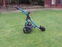 HillBilly Terrain Electric Golf Trolley & Battery for spares or repair