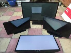 Job lot of tvs spares or repairs
