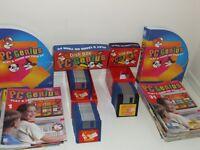 "Deagostini PC Genius BUNDLE Collection JOB LOT - FUN PC EDUCATION 3.5"" Floppy Discs"