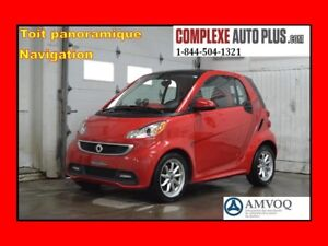 2014 Smart fortwo electric drive *Navi/GPS,Toit panoramique