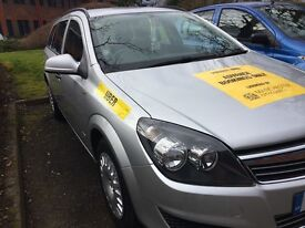 Manchester Taxi Private Hire Plated Vauxhall Astra Estate Eco 1.7 CDTI for sale