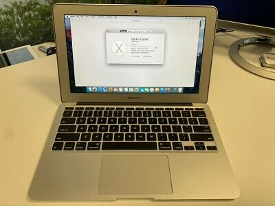 """Apple Macbook Air 11"""" (Early 2015) 1.6 Core i5 4GB 128 HD"""