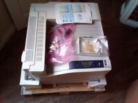 Xerox Phaser 7500DN A3 Colour Laser Printer 7500 DN New In Box 31 Test Prints