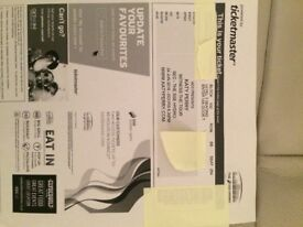 2 Katy Perry tickets for sale Glasgow June 2018