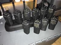 Motorola CP040 two way radios