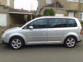 VW Touran Top specification 7 seats