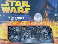Star Wars Saga limited edition numbered chess set