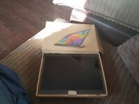 "Boxed good condition samsung galaxy tab s bronze 10.5"".... not ipad or acer"