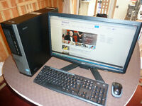 Dell Optiplex 7010 compter, wireless, i5 3.40Ghz, 23 inch monitor and wireless keyboard and mouse