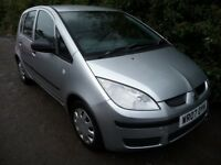 2007 Mitsubishi Colt 1.1 CZ1 5dr LONG MOT A1 DRIVE READY TO GO CHEAP USED CARS LEICESTER