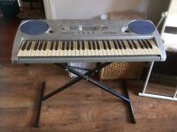Electric Keyboard. Yamaha psr 275 - Comes with stand, used, works fine, offers considered