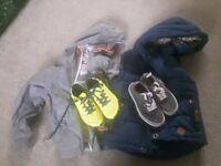 Boys age 6 Bundle Fatface, Vans, Adidas astros