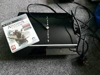 Playstation 3 ps3 80gb fat 1 game