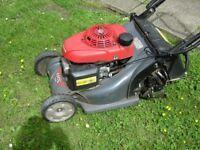 Honda HRX 426 Petrol Grass Mower With The Decent Grass Box Too - GOOD WORKING