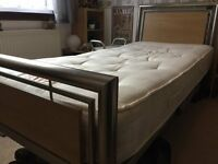 quality single bed and mattress £60