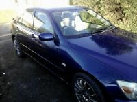 Reduced quick sale LEXUS IS200 SE sell or swap for 7 seater around same value
