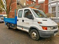 IVECO DAILY 2.8 TD 50C11 TIPPER CREW-CAB