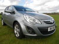 ** 2011 Vauxhall Corsa Sxi 5 door 1 Years MOT **
