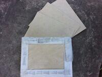 Wall/Floor Tiles . Half Price ! . Cream Colour . Brand New Boxed . 360 X 275 . Kitchen / Bathroom .