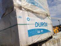 400 x Durox Extra Long Lighweight Aircrete Blocks 620 x 215 x 140