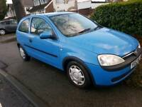 Vauxhall Corsa 1.0 great runner only 73k mile BLUE