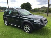 Land Rover HSE Freelander MANUAL TOP SPEC 4x4 jeep inc Heated Leather Amazing SH Alloys 4wd SAT NAV