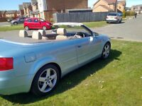 2005 05 AUDI A4 1.8T SPORT CONVERTIBLE LEATHER INTERIOR ELECTRIC ROOF (SWAP PX P/X PART EXCHANGE)