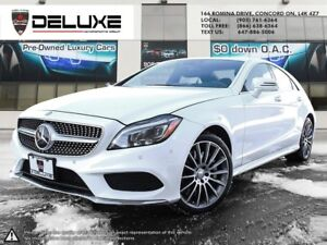 2015 Mercedes-Benz CLS-Class CLS 550 AMG PKG 4matic WHITE ONE...