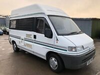 Fiat Ducato 1.9 TD 10 MOTORHOME (MWB)£9,995 p/x welcome MINT CONDITION. FINANCE AV