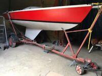 Squib sailboat