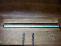 1 x Wooden Magnetic Wall Knife Rack Strip Holder