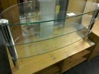 Glass TV stand #30813 £25