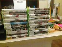 Xbox 360 sold still have the 31 games and headset