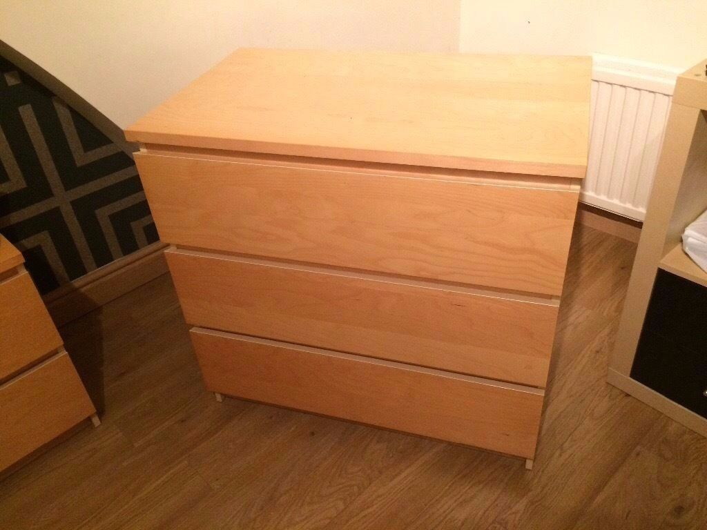 Overbed Bedroom Furniture Ikea Malm 3 Piece Bedroom Furniture Set Over Bed Table In