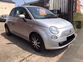 Fiat 500 1.2 Pop 3dr - 2010, 2 Owners, 12 Months MOT, Full Service & New Clutch, Low Miles 53K £3495