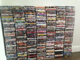 Over 500 DVDs for sale all good films in boxes my personal collection.