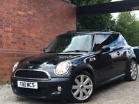 MINI Hatch 1.6 Cooper S 3dr RED LEATHER+SAT-NAV+PAN ROOF