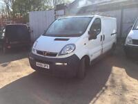 Vauxhall vivaro van 2005 breaking for spares