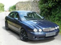 2007 JAGUAR X TYPE S D DIESEL- FULL LEATHER INTERIOR - SERVICE HISTORY - ALLOYS
