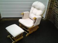 Nursery Chair & Stool