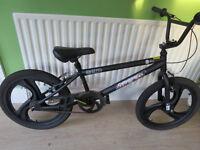 Zinc Backbone 20 Inch BMX Bike. NEW, BARGAIN,ARGOS PRICE £199.99, SALE £89.99 OUR PRICE £45.00 black