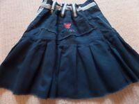 5 ITEMS GIRLS bundle - Benetton Dress, 3 Gap Woollens & Fat Face Teal Skirt - mint