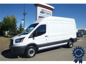 2017 Ford Transit Cargo Van Rear Wheel Drive - 17,141 KMs, 3.7L