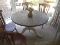 Lovely Round Farmhouse Table