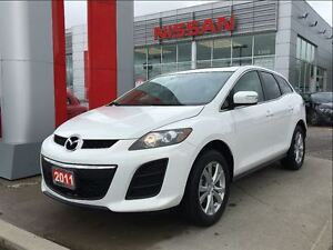 2011 Mazda CX-7 GS AWD, Bluetooth, moon roof, heated seats