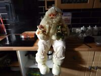 VERY RELUCTANT SALE OF MY LARGE SITTING SANTA